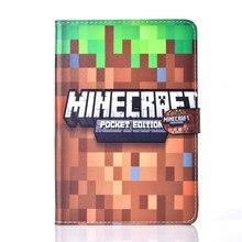 Stand Case For Apple iPad mini 1 2 3 mini 3 mini 2 Case Minecraft Game
