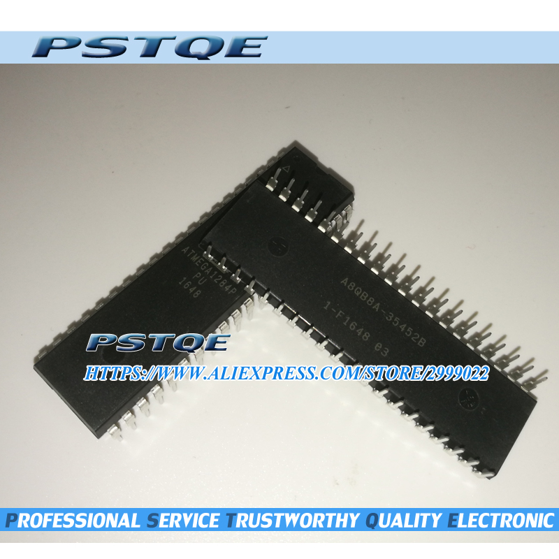 5PCS/Lot Original ATMEGA1284P PU  ATMEGA1284P  ATMEGA1284 DIP 40-in Replacement Parts & Accessories from Consumer Electronics