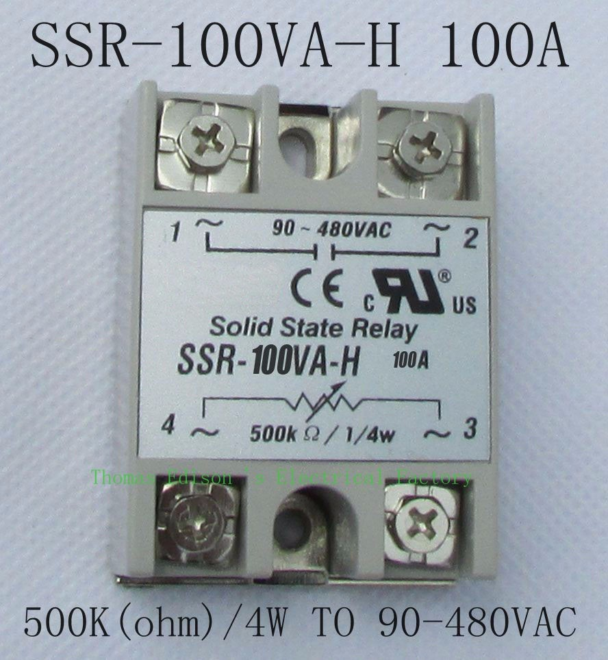 Dmwd Solid State Relay Ssr 100va H 100a Resistance Type German Your Money Will Earn Back If You Buy Better Quality After Long Time Because Our Could Use For