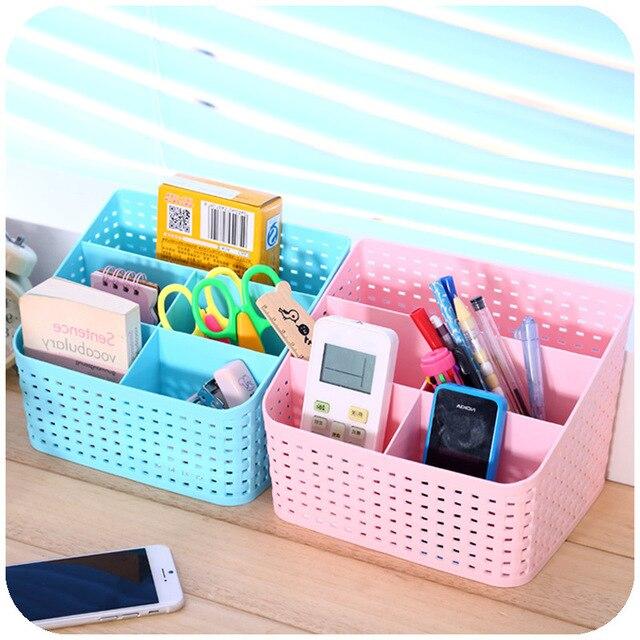 cute desk organizer jewelry storage bins makeup cosmetic desk rh aliexpress com  cute desk organizers diy