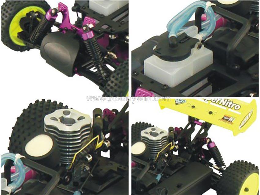 Безколлекторная электрическая модель 94105 RTR 2,4G 1/10th 4WD деталь нитро-двигателя Himoto Redcat двигателя Мощность внедорожник Buggy Single-Скорость Stormer