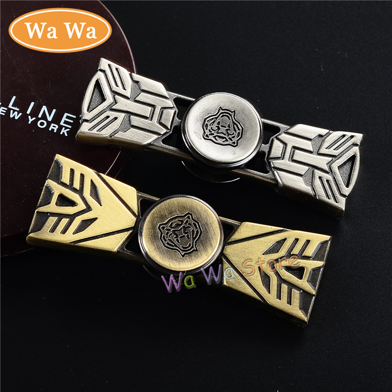 Two Leaf King Kong Spinner Fidgets Toy EDC Sensory Fidget Spinner For Autism ADHD Kids Adult
