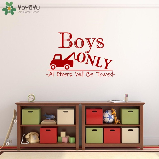 wall stickers for kids room quotes boys only playroom wall decal