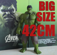 42cm / 30cm Hulk thanos Action Figures PVC Model Statue Collectible Toy big size Action Figures Toys