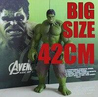 42cm Hulk Action Figures PVC Model Statue Collectible Toy big size Action Figures Toys