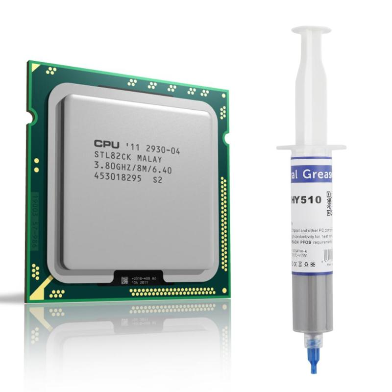VODOOL HY510 Thermal Conductive Silicone Grease Paste for GPU CPU Chipset Cooling -<font><b>30</b></font> to180 Degree 1.93 W/m-K Grey Cooling Prop image