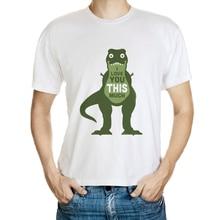 DY 173 Brand 3D T Shirt Men Quality 100 Cotton Crocodile I Love U This Much