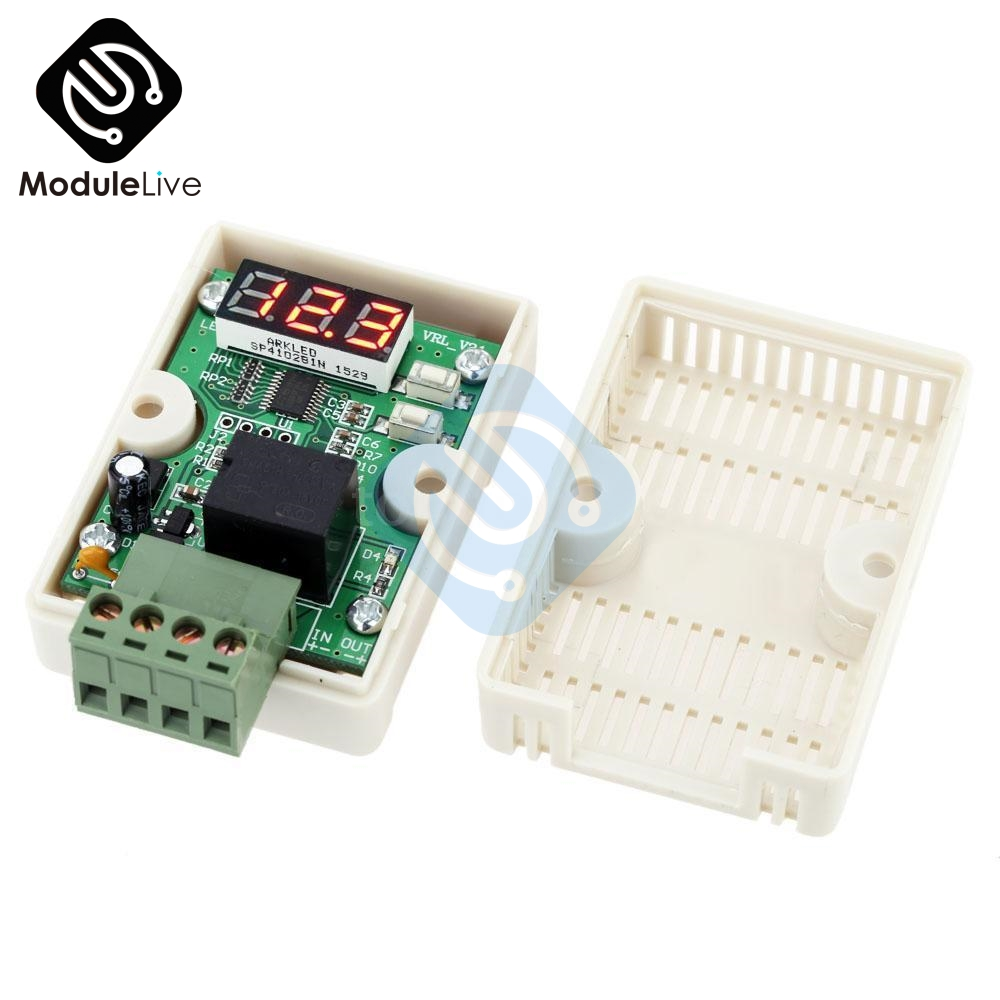 12V 20A Delay Relay Voltage Control Under Voltage Protection For Car Battery NEW12V 20A Delay Relay Voltage Control Under Voltage Protection For Car Battery NEW