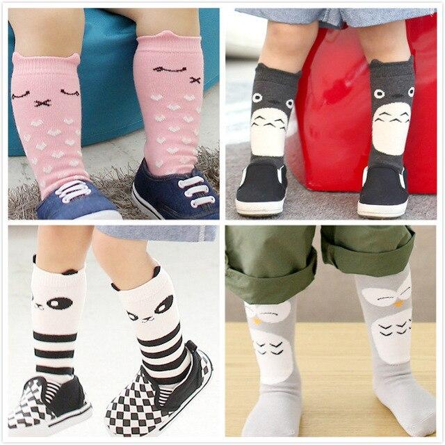 89e46a4f58a2c Animal knee high socks for little girls Cute socking 12 pairs/lot free  shipping baby cartoon socks kids cottom socks