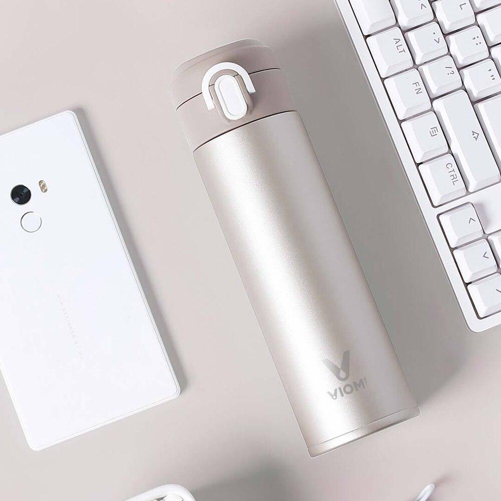 Xiaomi Mijia VIOMI 300 ml Original de vacío de acero inoxidable 24 horas frasco de agua inteligente botella termo sola mano en Z30
