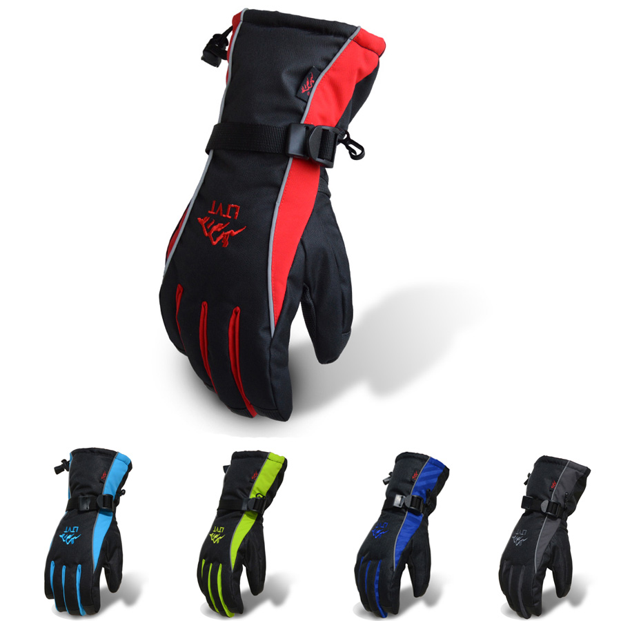 Mens ski gloves xl - Men L Xl Winter Outdoor Sports Skiing Gloves Thickened Skateboard Gloves For A Variety Of