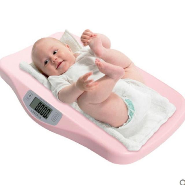 Nonslip Precisa eletrônica Digital Balanças 50g-20 kg Do Bebê da Criança