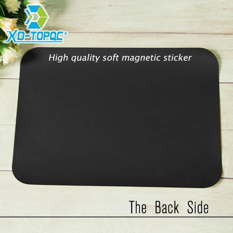 XINDI A4 21*30cm Weichen Kühlschrank Magneten Flexible Mini Whiteboard PET Film Nachricht Bord Magnetische Notizen Kühlschrank Memo pad FM01