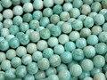 Envío gratis (47 bolas/set/37g) 8mm Larimar natural granos flojos de piedra para la joyería fabricación de diseño