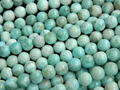 Free shipping (47 beads/set/37g) natural  8mm Larimar  loose beads stone for jewelry making design