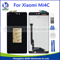 High Quality Repair Parts For Xiaomi Mi 4C Mi4C M4C LCD Display And Touch Screen Digitizer Replacement Assembly Black +Tools