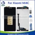 Piezas de reparación de alta calidad para xiaomi mi 4c mi4c m4c lcd pantalla y pantalla táctil de reemplazo digitalizador asamblea negro + herramientas