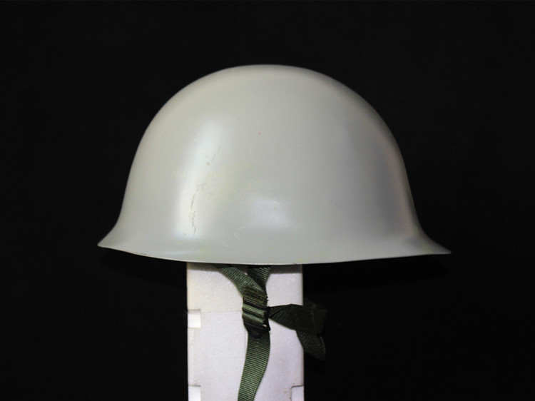 Original helmet Type 80 Vintage Steel Helmet Navy Gray Military Safe Secure