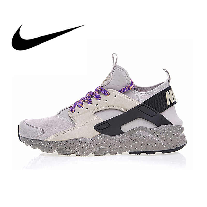 the best attitude ca1ac 938b8 Original Authentic NIKE Air Huarache Wallace Four Generations Men s Running  Shoes Sneakers Athletic Designer Footwear 2019