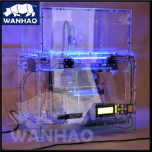 3d object wanhao printer dimension duplicator 4x transparant