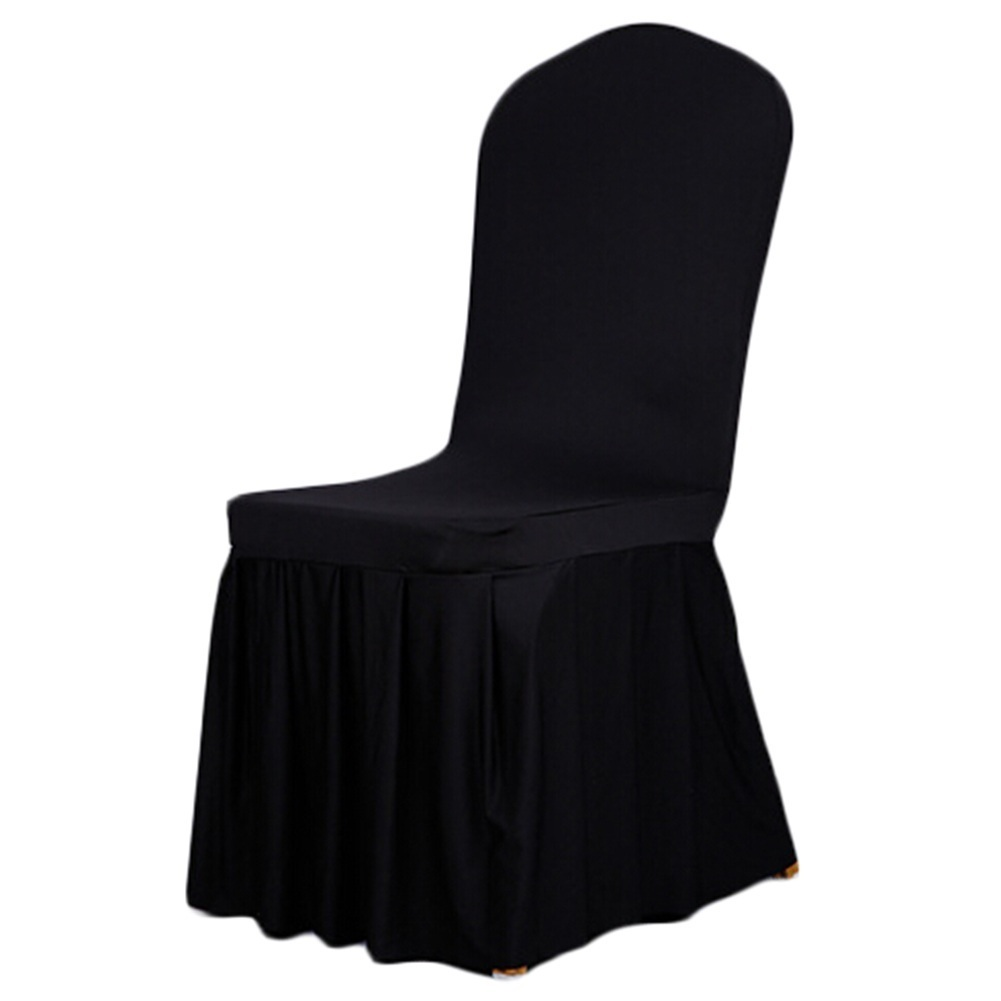 New Spandex Stretch Dining Chair Cover Hotel Restaurant Weddings Banquet Home Decoration Decor Christmas Chair Covers 10 Colors