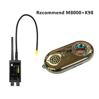 2 Pack Professional Multifunctional Handheld Security Bug Detector Detects All Active GPS Trackers Hidden Cameras