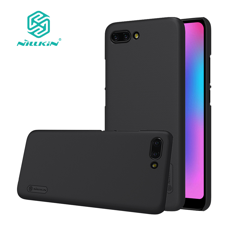For huawei honor 10 case cover 5.84 inch NILLKIN Frosted PC hard back cover with Gift Phone Holder for honor 10 view case
