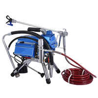 Professionelle Airless Farbe Sprayer 3000W 10L/min Hochdruck Spritzen Airless Spritzpistole TP-495 Elektrische Malerei Maschine werkzeug
