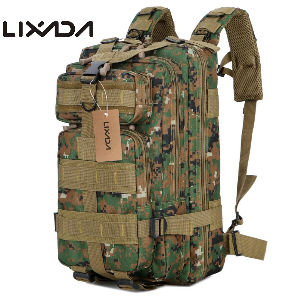 b6c309d1fadb0 Lixada 40L Assault Pack Army Molle Bug Out Bag Travel Backpack Outdoor  Hiking Camping Hunting Military