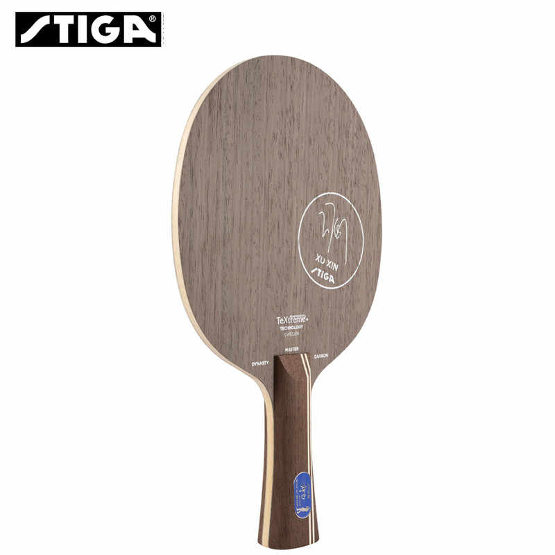 New Stiga Top Quality The Best Table Tennis Blade Carbon Dynasty Xu Xin Used Ping Pong Racket Penholder