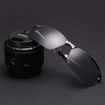 7b1f4b79f787b Venda quente óculos de Sol dos homens polarizer Óculos Polarizados Óculos  de visão motoristas de carro noite óculos de Condução Clássico Piloto  óculos de ...