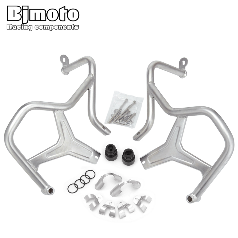 BJMOTO Motorcycle Refit Tank Protection Bar Protection Guard Frame Crash Bars For For BMW R 1200GS LC Adventure 2014 2017