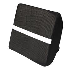 Lumbar Back Support Cushion Pillow Memory sponge Waist for Office Home Chair Car Seat