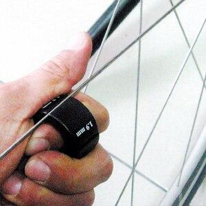 Llave de radio Aero para radios planos 0,9/1,1/1,3/1,9mm TB-5501 herramienta de bicicleta GENIERAA