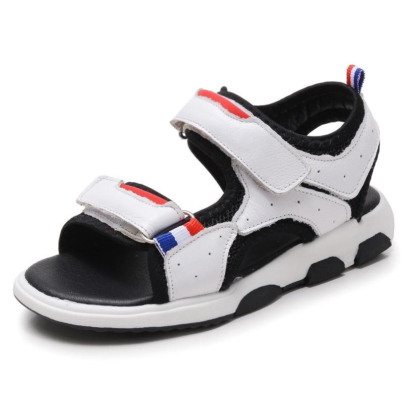 2018 dzieci letnie nowe buty dziecięce skórzane sandały cuhk - Obuwie dziecięce - Zdjęcie 1