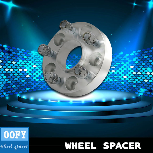 1 pair/ car aluminum wheel spacer  adapter hub  flange 5-114.3 30mm for Nissan skyline sylphy teana X-trail