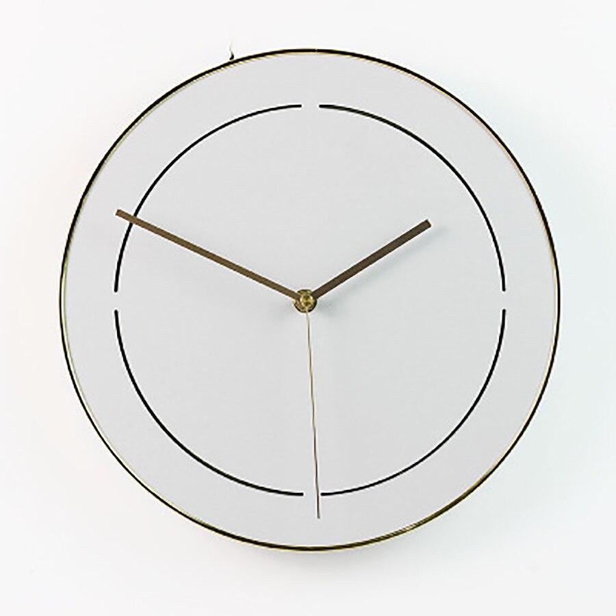 Minimalista Sala de estar relógio de Parede Relógio de Quartzo Relógio de Parede Única Casa De Madeira Casa Acessórios de Decoração Moderna Relógios Digitais Reloj - 4