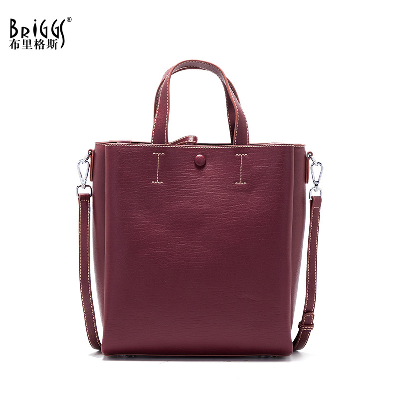 BRIGGS Women Messenger Bag Female Small Tote Top-Handle Bag Shoulder Crossbody Bags For Ladies Designer Handbag Famous Brand Bag whosepet eiffel tower fashion ladies totes messenger bag female top handle bags women pu leather vintage bag small crossbody bag