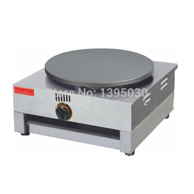 Gas Type Crepe Maker French Crepes Pancakes Naan Bread Maker FYA-1.R 1pc free shipping round type gas crepe machine french crepe maker