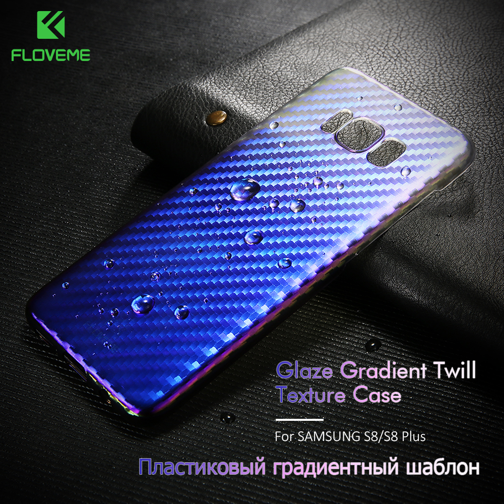 US $2 94 41% OFF|FLOVEME Case For Samsung Galaxy S8 S8 Plus Case Luxury  Gradient Changing Colors Cover For Samsung S8 Plus Hard Phone Case Shell-in