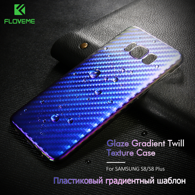US $2 99 40% OFF|FLOVEME Case For Samsung Galaxy S8 S8 Plus Case Luxury  Gradient Changing Colors Cover For Samsung S8 Plus Hard Phone Case Shell-in