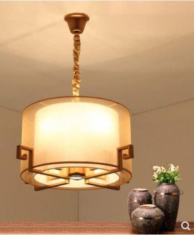 Люстра современный Утюг простой Гостиная Спальня кабинет лампа ресторан вокруг света зале отеля инженерно свет