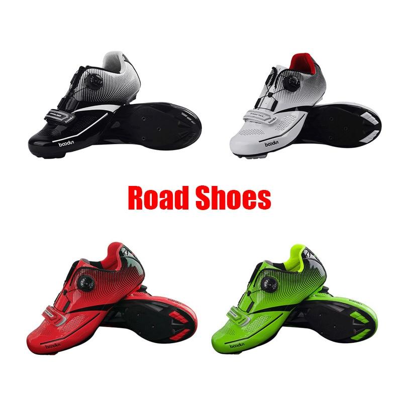 Boodun Breathable Professional Self-Locking Cycling Shoes MTB Bicycle Shoes Non-Slip Bike Racing Shoes Sapatos de ciclismo