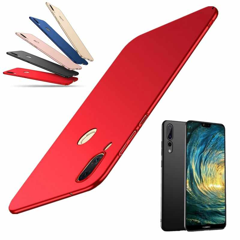 Ultra Slim Matte Phone Case for Huawei P20 Pro P 20 Lite Luxury Hard PC Plastic Protective Back Cover for Huawei P 20Lite 20Pro