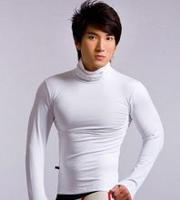 2013 autumn and winter male long-sleeve basic shirt thermal underwear solid color long johns underwear customize