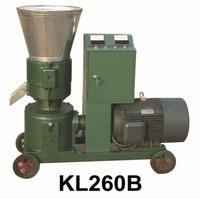 15KW KL260B Pellet Machine Animal Feed Wood Pellet Mill Machine Pellet Press With Star delta Starting