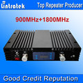 AGC MGC 73dBi Lintratek GSM 900 Mhz 1800 MHz Señal de Doble Banda Boosters GSM DCS Repetidor de Señal de Teléfono Móvil GSM 900 1800 repetidor