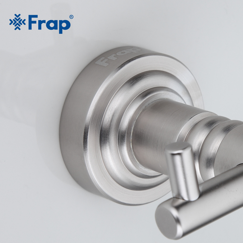 Frap 4 pièces salle de bain accessoires espace aluminium support de verre verre tasses savon plat brosse à dents dent support de verre F37T4 - 4