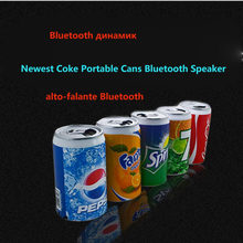 New Metal Beer cans usb Mini Bluetooth speaker Beverage cans Mini Speaker Portable TF Card Speaker with FM Radio for phone 6 7s(China)