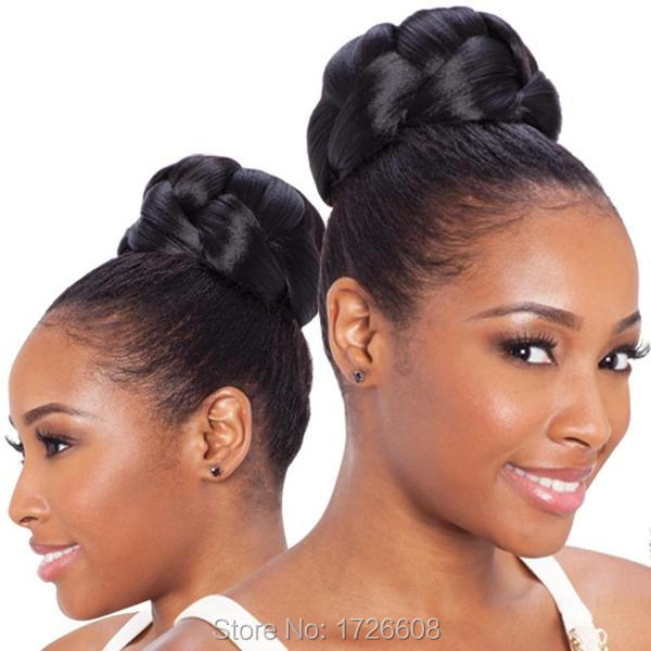 2016 Fake Hair Buns For Black Women Hair Make Up Chignon